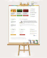 iWeb Template: Easel Theme