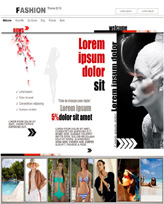 iWeb Template: Fashion
