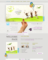 iWeb Template: Happiness Theme