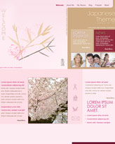 iWeb Template: Japanese Theme