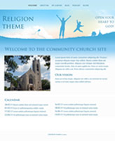 iWeb Template: Religion Theme