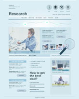iWeb Template: Research Theme