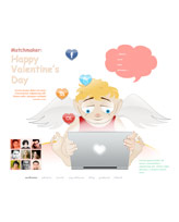 iWeb Template: Valentines Day 5