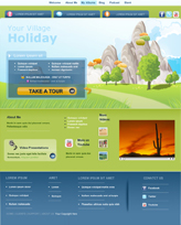 iWeb Template: Village Theme