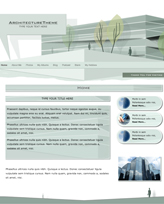 iWeb Template: Architecture Theme