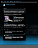 iWeb Template: Blackout Theme
