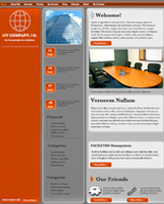 iWeb Template: Column Theme