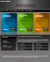iWeb Template: Rainbow Theme