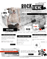 iWeb Template: Rock Theme