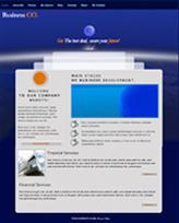 iWeb Template: Time Machine Theme