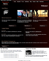 iWeb Template: Tomorrow Theme