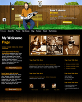 iWeb Template: Your Leisure Theme