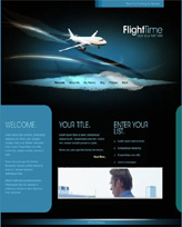 iWeb Template: Flight Theme