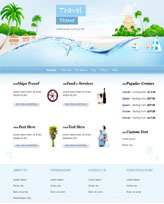 iWeb Template: Travel Theme