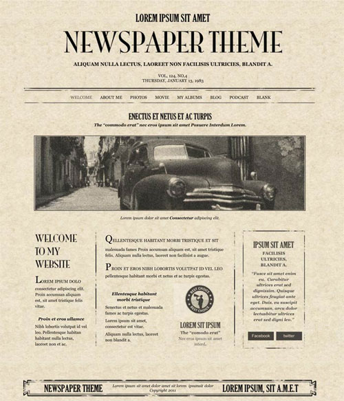 iweb newspaper for apple ilife08 ilife11